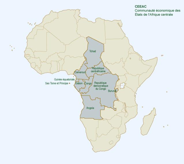 Carte De Lafrique Tchad.Terrorisme Et Contre Terrorisme En Afrique Centrale Quelle
